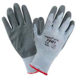 rukavice pracovné Polyester-hrubý latex veľ.10