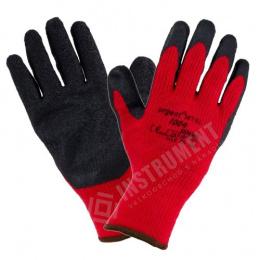 rukavice pracovné akrylové latexové zimné